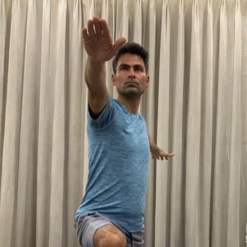 On International Yoga Day 2020, Mohammad Kaif gets trolled by fundamentalists for doing yoga