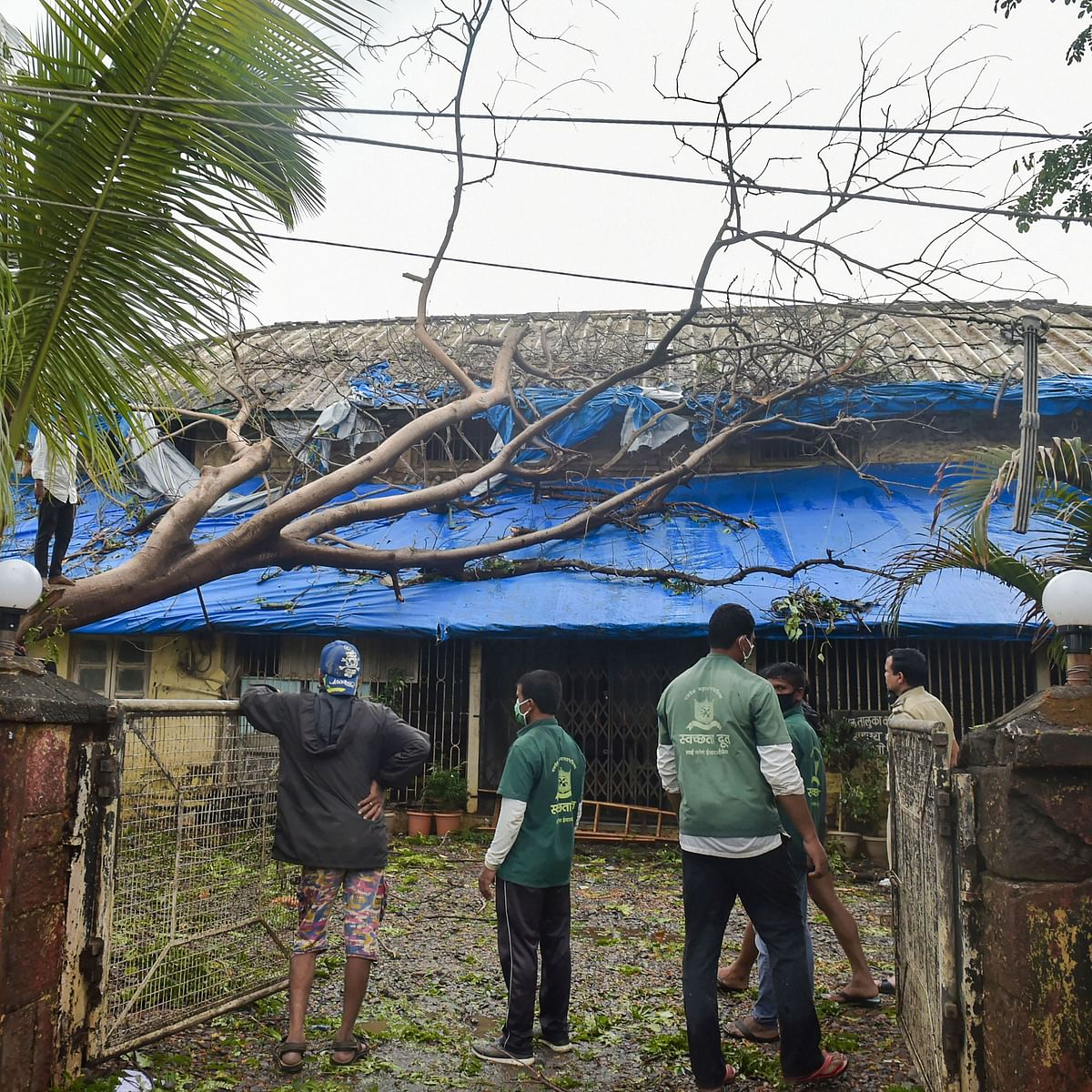 Thackeray, Pawar hold separate meetings to review Cyclone Nisarga damage