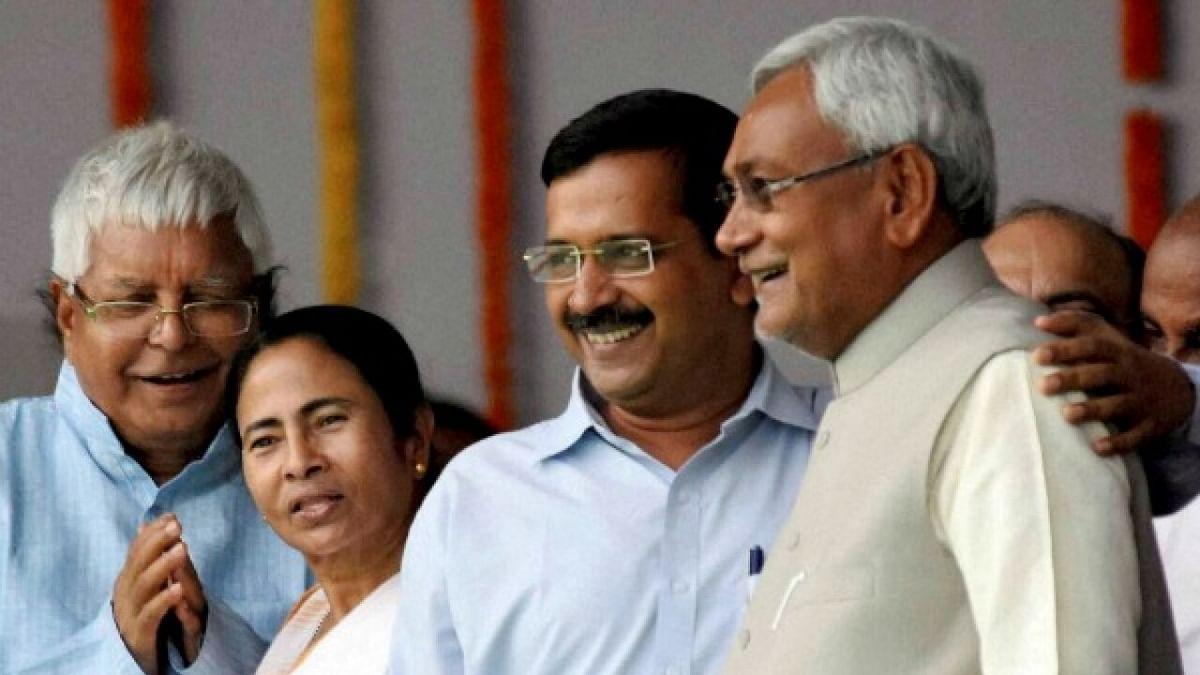 Lalu, Mamata, Kejriwal, Nitish