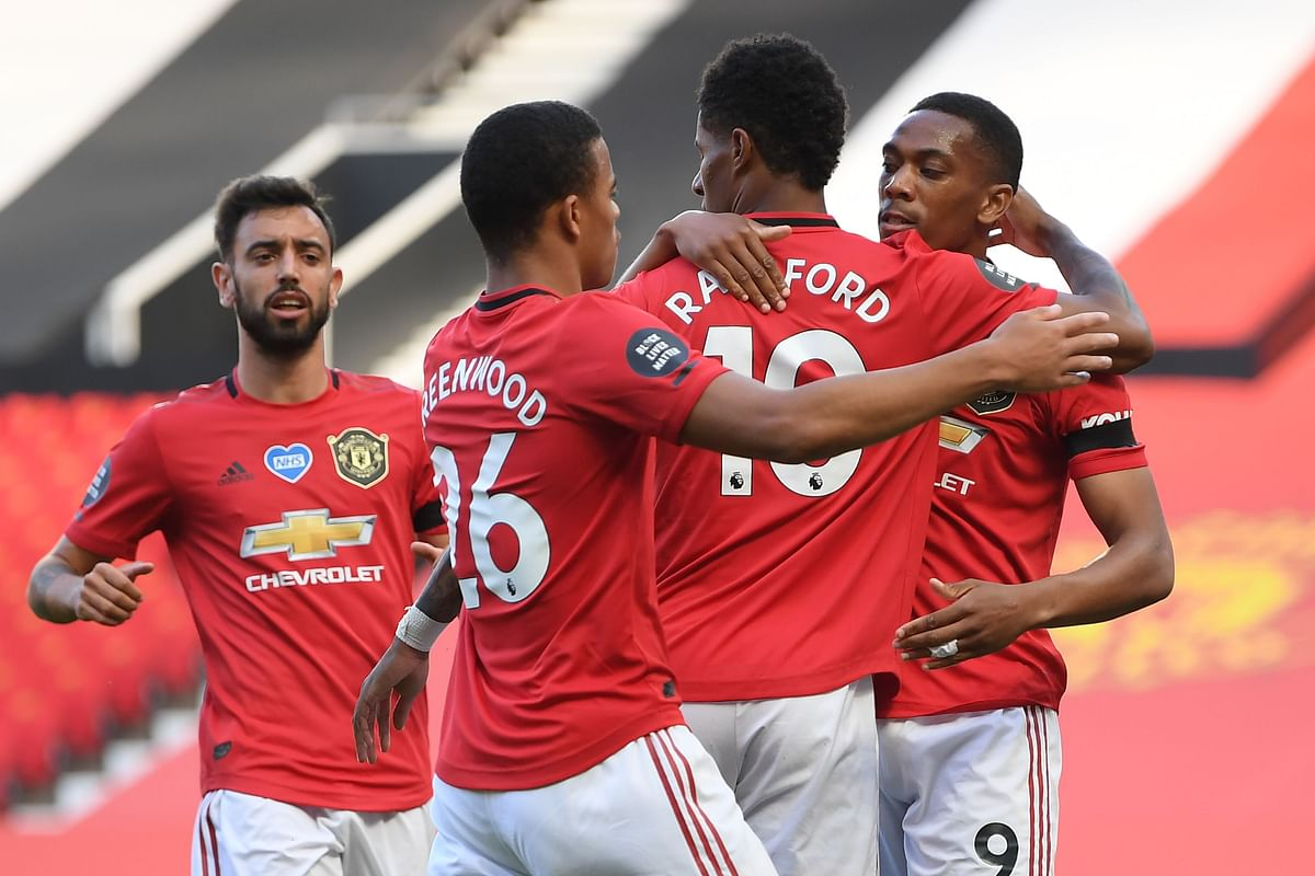 Anthony martials United's win