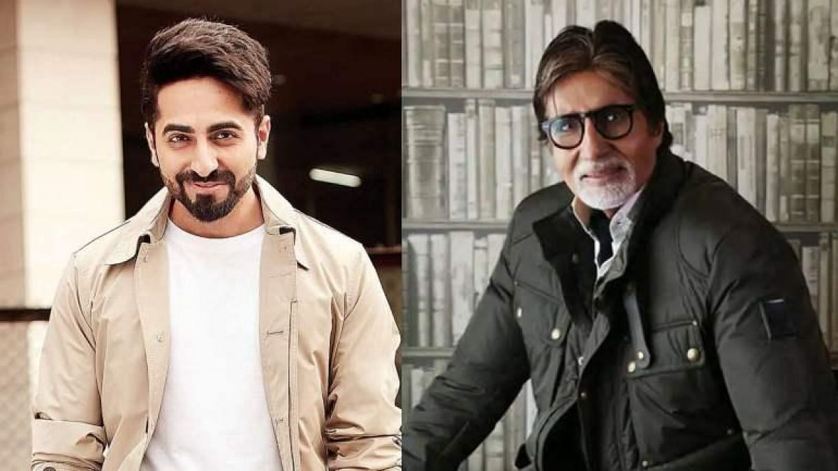 Here's what Ayushmann has to say about his 'Gulabo Sitaboo' co-star Big B