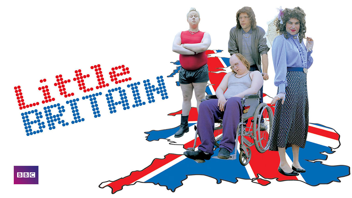 Netflix, BBC remove 'Little Britain' over blackface comedy skits