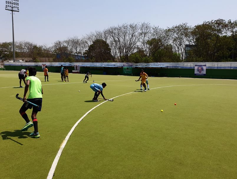 The stadium has a Federation International Hockey (FIH)-recognised surface on their premises.