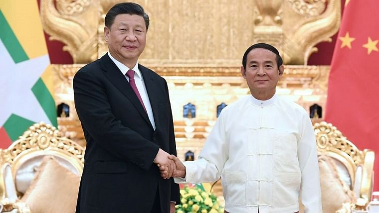 Xi says China-Myanmar ties at key juncture linking past and future