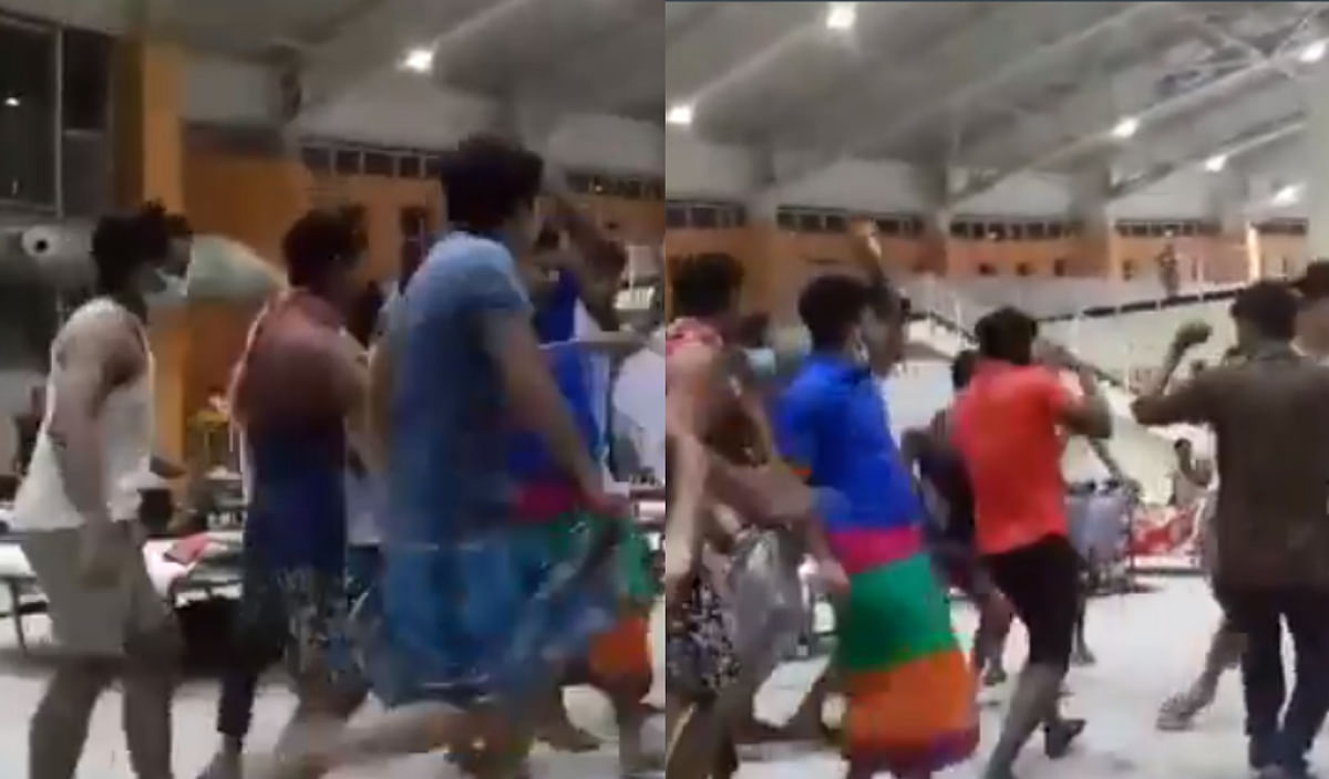 BJP's Nitesh Rane shares 'video of quarantine lungi dance', BMC fact-checks him