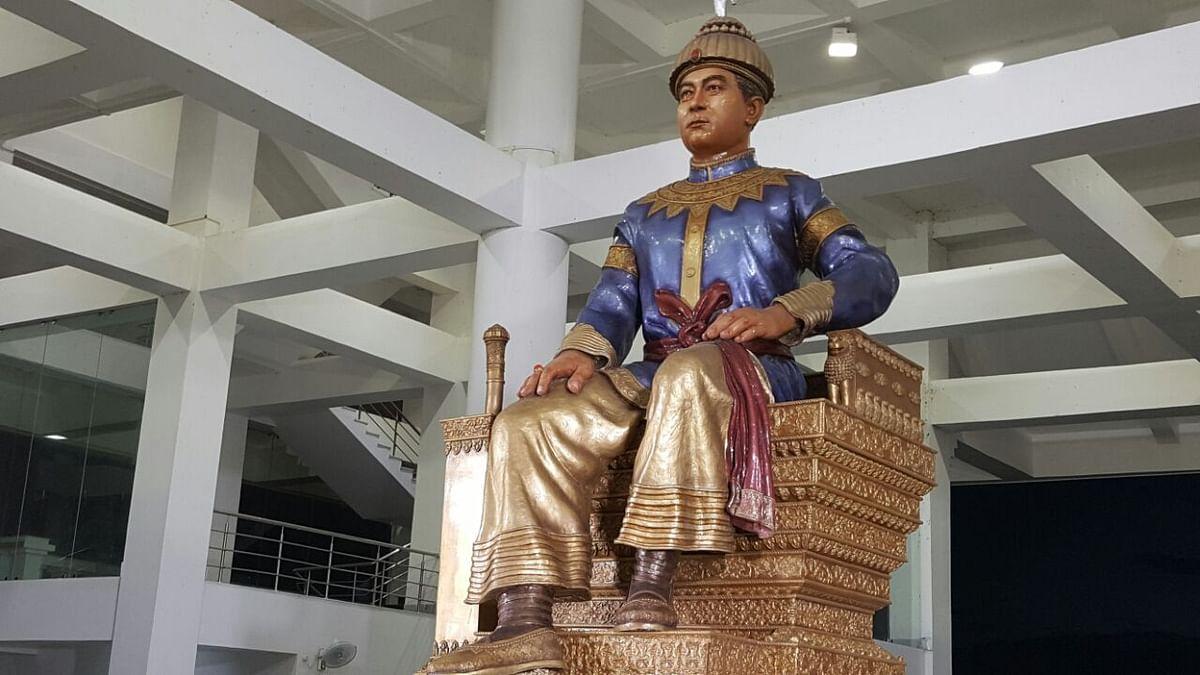 Chaolung Sukapha memorial, Jorhat
