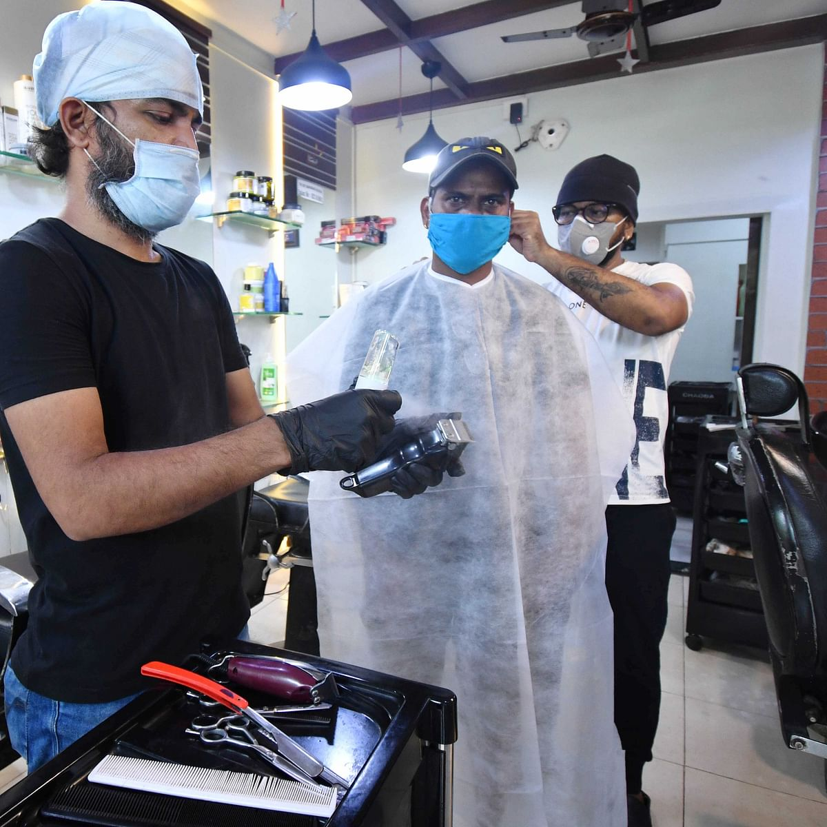 Mission Begin Again: Salons reopen in Mumbai after 3 months
