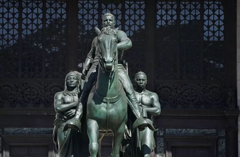New York museum to remove former US president Theodore Roosevelt's statue