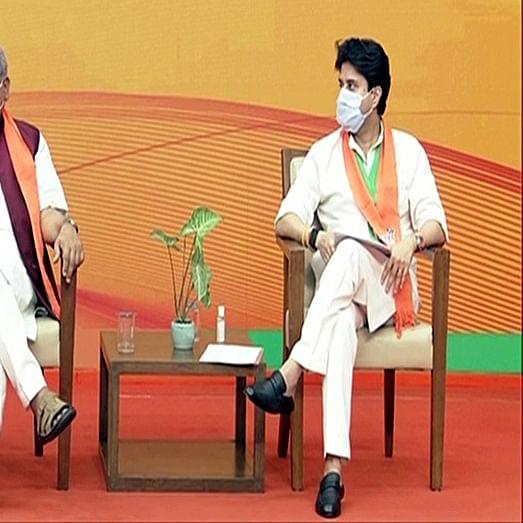 Nine Scindia loyalists; Party hoppers in Madhya Pradesh Govt