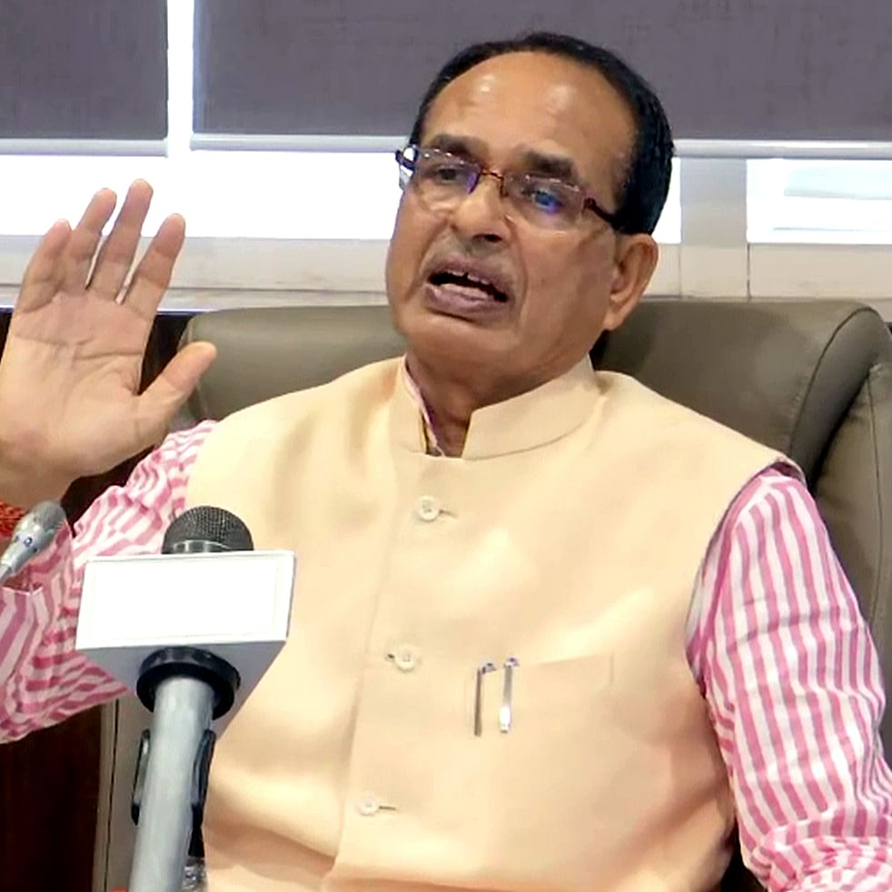 Shivraj Singh Chouhan 'lifts' poem from internet, credits wife for writing it in her father's memory