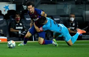 Real feel Barca's heat