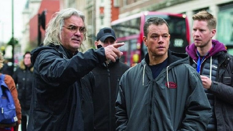 Jason Bourne films were a wake-up call for James Bond makers, says filmmaker Paul Greengrass
