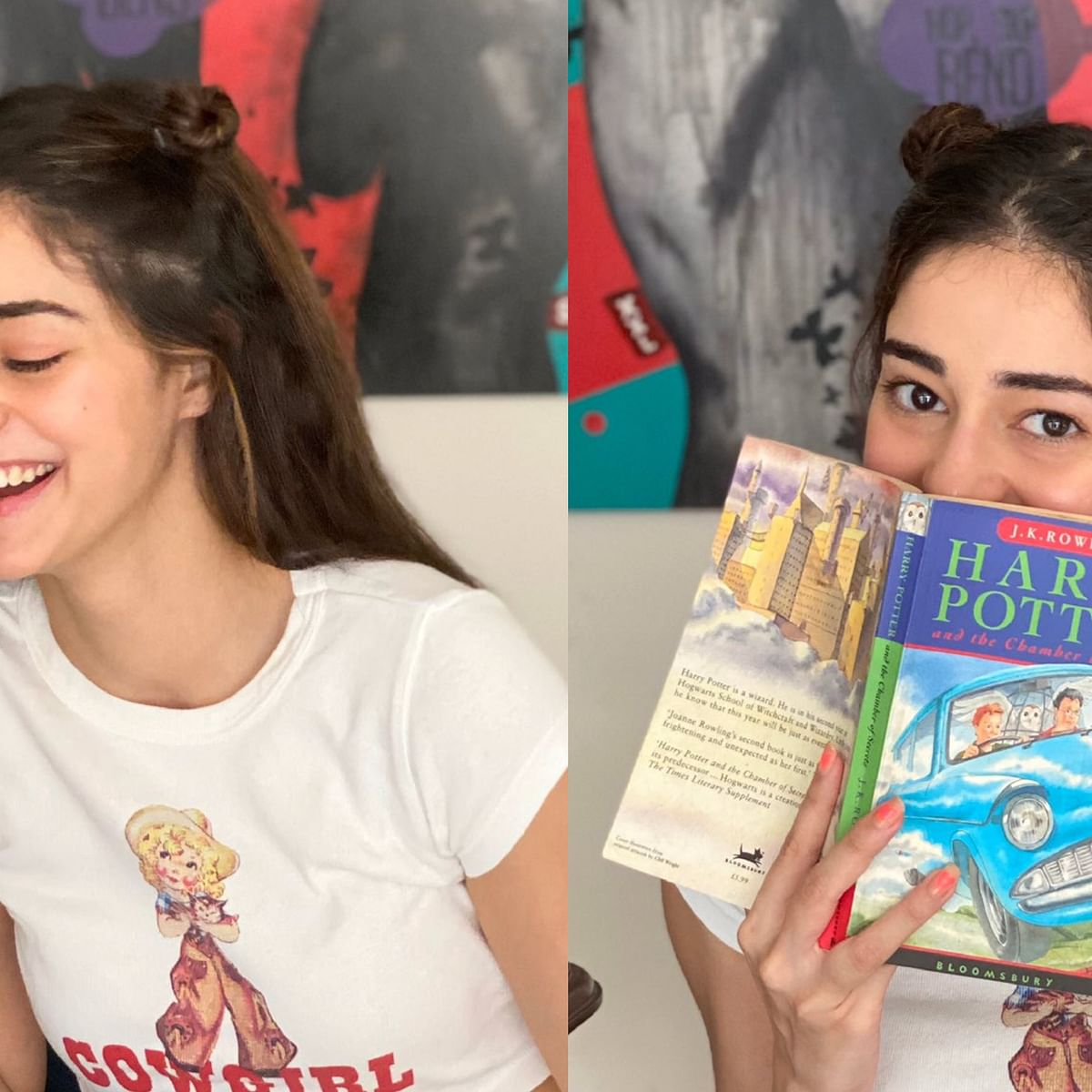 'Worst time to be holding a Harry Potter book': Ananya Panday gets trolled for her latest magazine cover