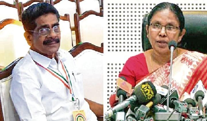 Congress Kerala chief Mullappally Ramachandran calls health minister  Shailaja Teacher 'COVID queen'
