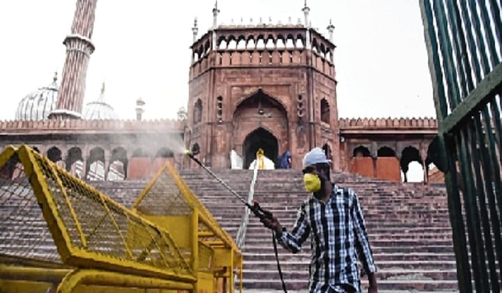 Delhi's Jama Masjid shut till June 30: Shahi Imam
