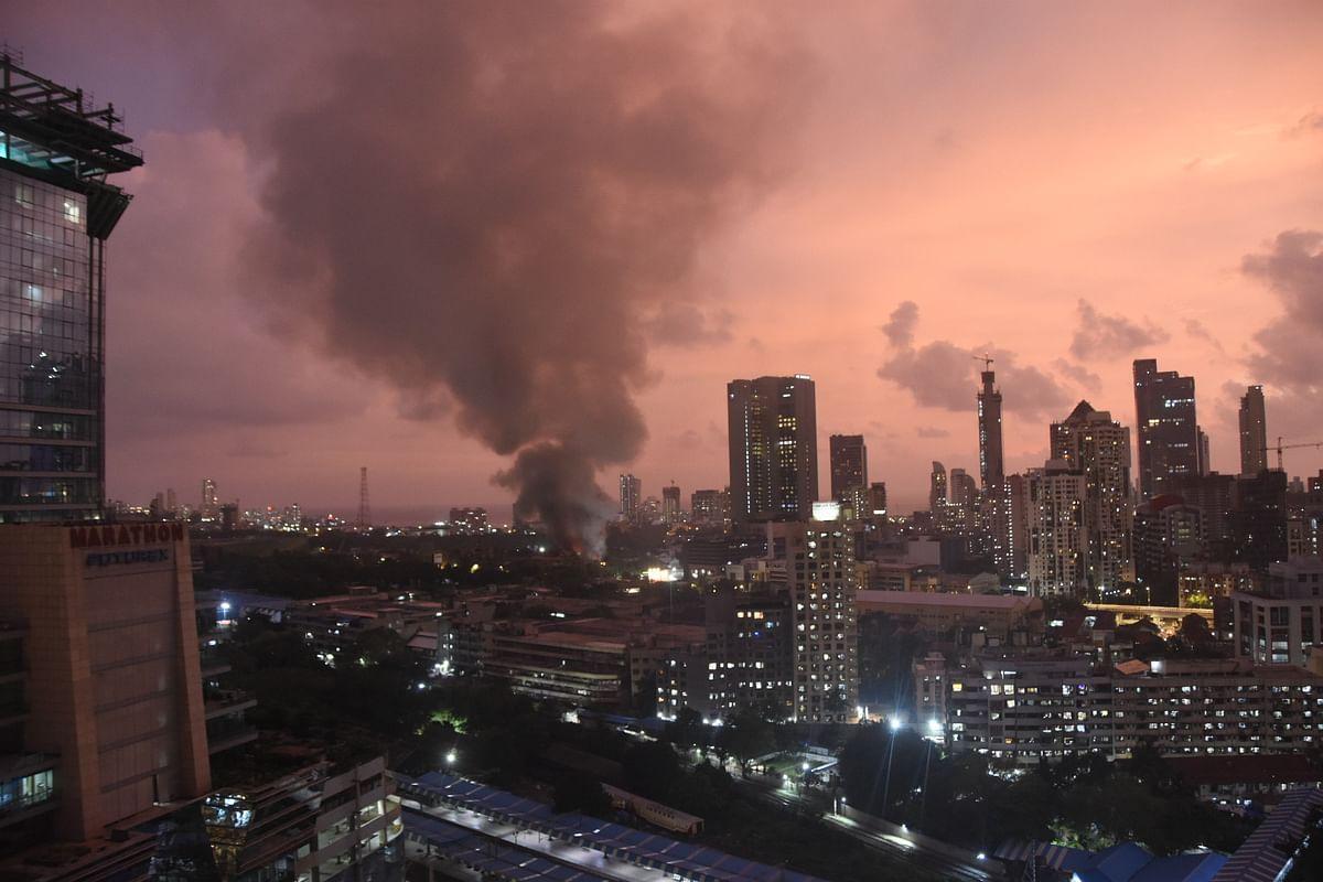 From midnight till morning, three fires reported in Mumbai