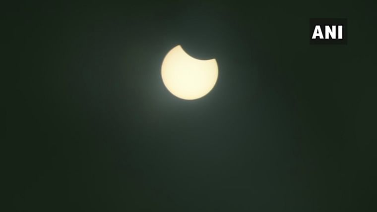 Solar Eclipse on June 21: Check out pics from Haryana, Rajasthan, Gujarat