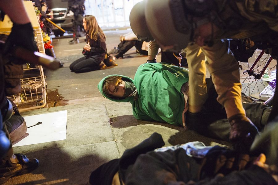Heavy-handed crackdown on protests lays bare U.S. double standard on human rights