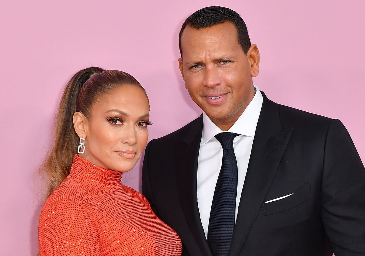 Jennifer Lopez, Alex Rodriguez join march for racial justice in Los Angeles
