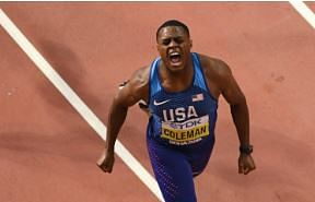 World 100m champion Coleman suspended for skipping dope test
