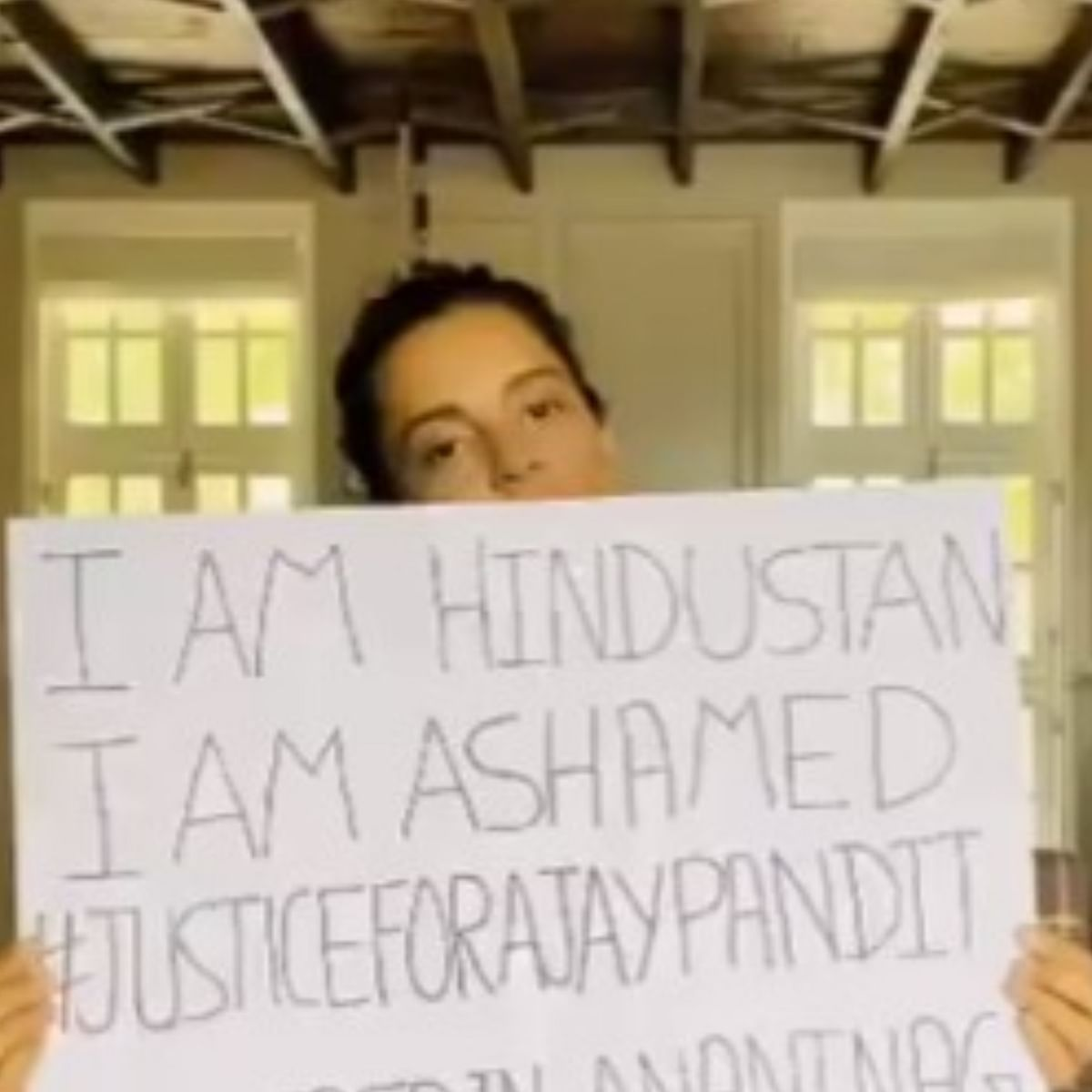 Kangana Ranaut demands 'Justice for Ajay Pandita', urges PM Modi to take strict action against atrocities done on Kashmiri Pandits