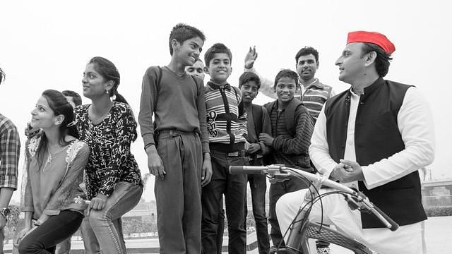 Akhilesh Yadav promotes 'The Cycle Track, Twitter says 'enough of marketing'