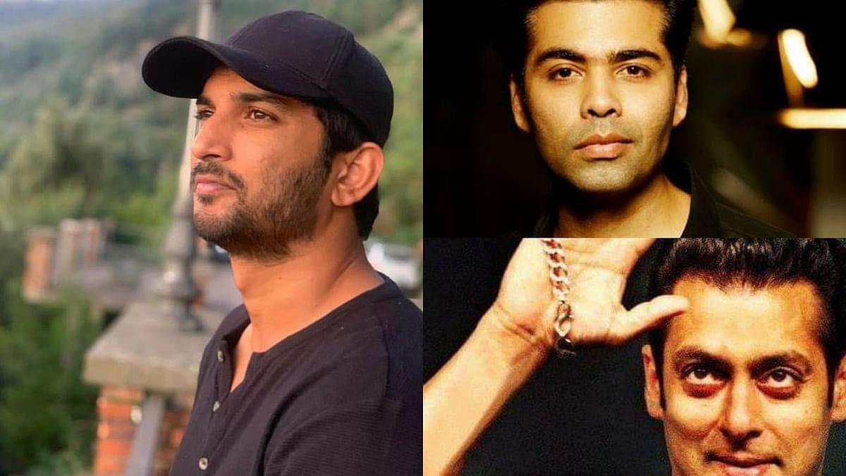 Sushant's suicide: Complaint in Muzaffarpur court against Salman, Karan Johar, Aditya Chopra, and 5 others