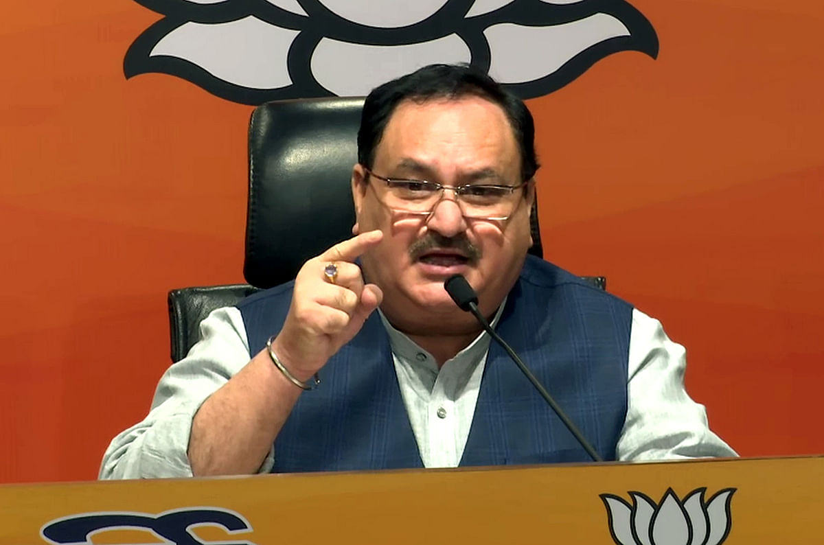 Nadda steps up his attack on Cong over donations to RGF
