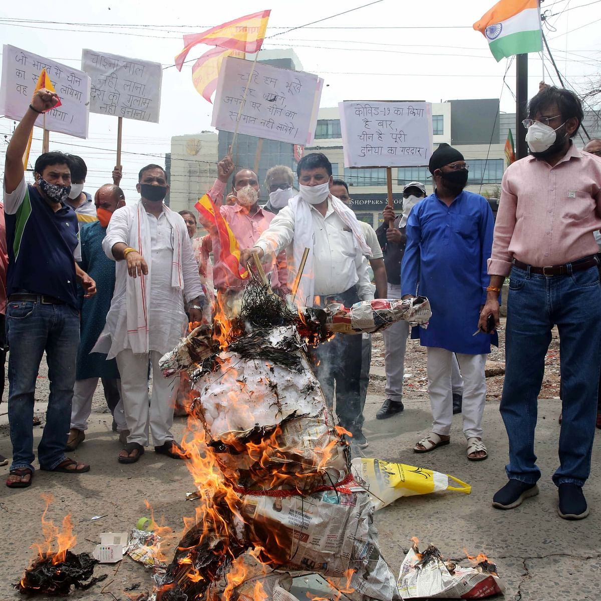 Bhopal: Call to boycott Chinese products grows louder