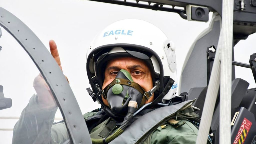 India-China face-off at Galwan Valley: IAF Chief says Air Force is determined to deliver and geared up for any contingency.