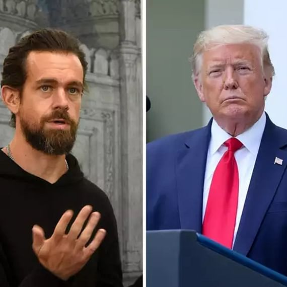 Jack vs Trump Round 3: US President accuses Twitter of 'illegally' pulling down his campaign video; Twitter responds to allegation