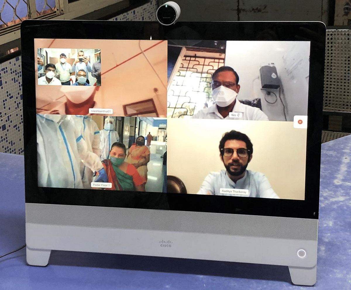 Coronavirus in Mumbai: G (South) ward sets up telemedicine COVID-19 care at Podar Hospital, Worli