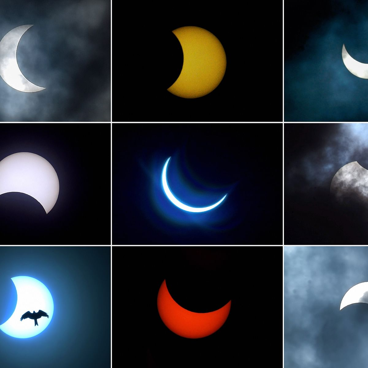 Truly Heavenly: These divine pics and videos of the Solar Eclipse on June 21 will take your breath away