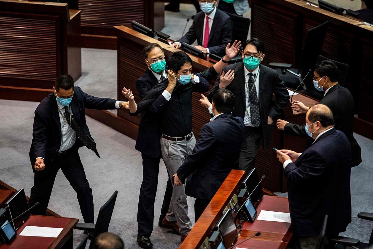 Hong Kong passes China's national anthem bill