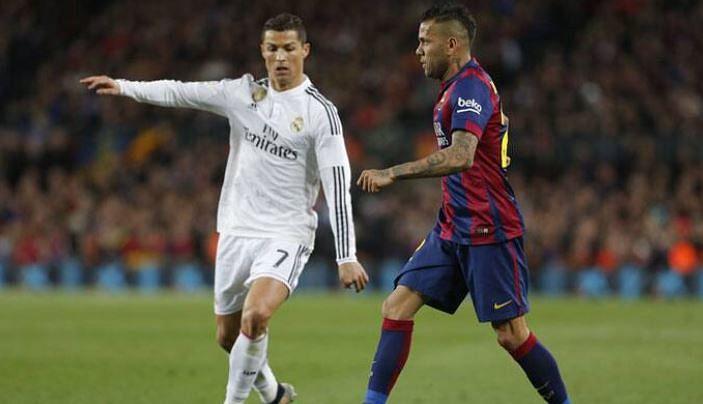 It's advantage Real, Barca