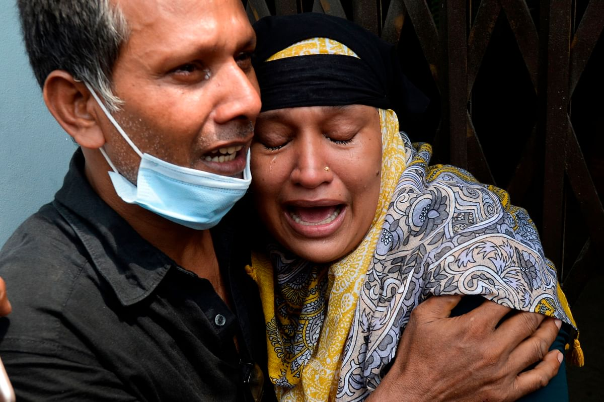 2 people drown as ferry capsizes in Bangladesh's Buriganga river