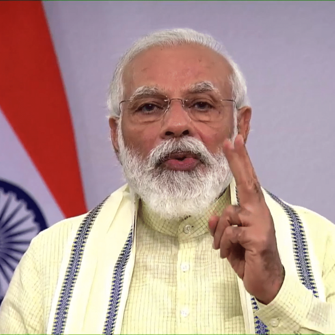 Brazil with same population as UP but recorded more COVID-19 deaths: PM Modi