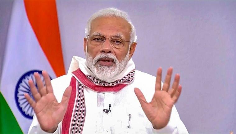 PM Modi Speech Live Updates: Free ration scheme extended till November, says PM Modi