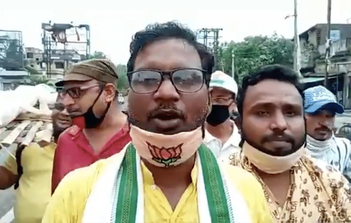 In West Bengal, BJP workers raise slogans against Chinese 'Pradhan Mantri Kim Jong Un'