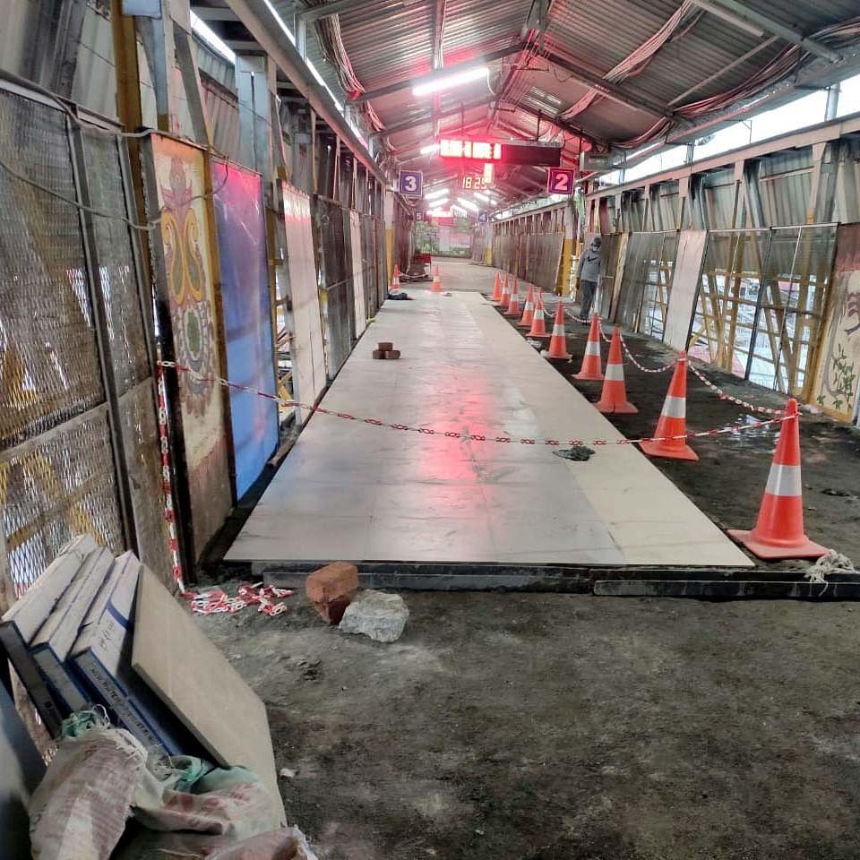 Bhopal: Railways Foot Over Bridge dead weight cut down by 200kg per meter square