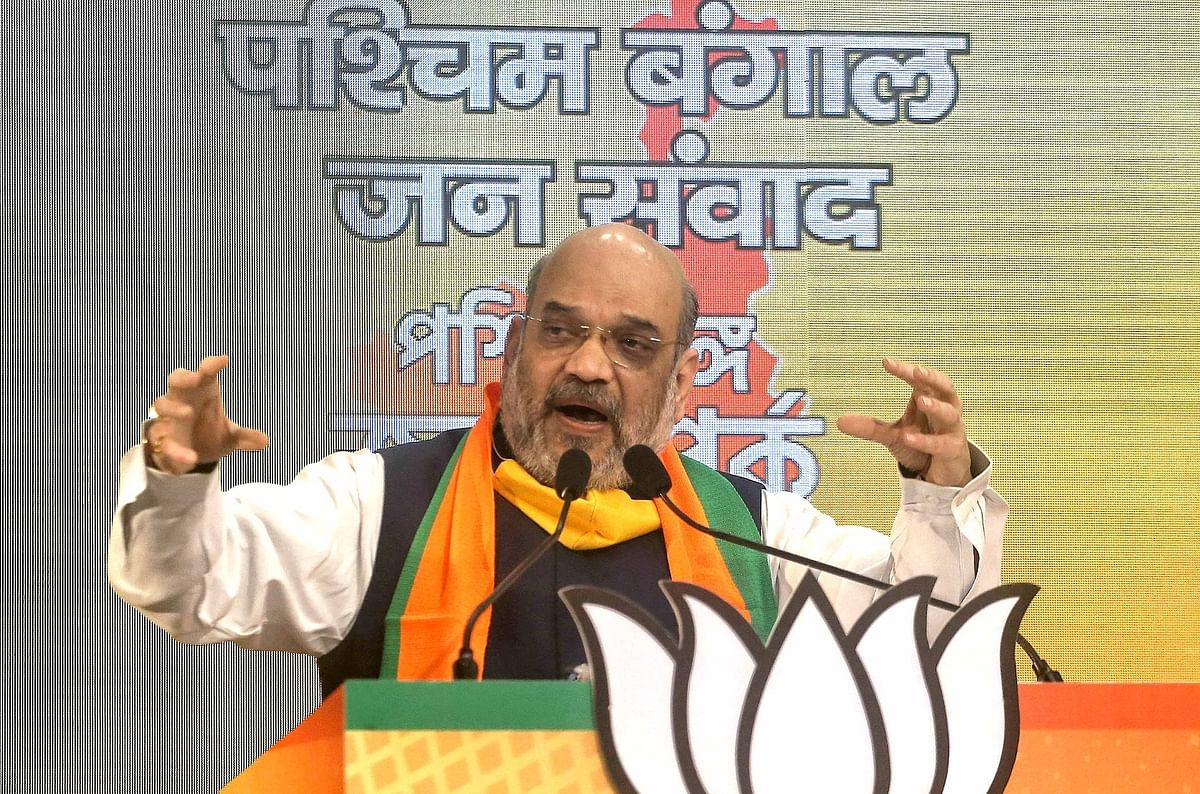 West Bengal Elections 2021: Amit Shah holds closed-door meeting with senior BJP leaders over candidate selection