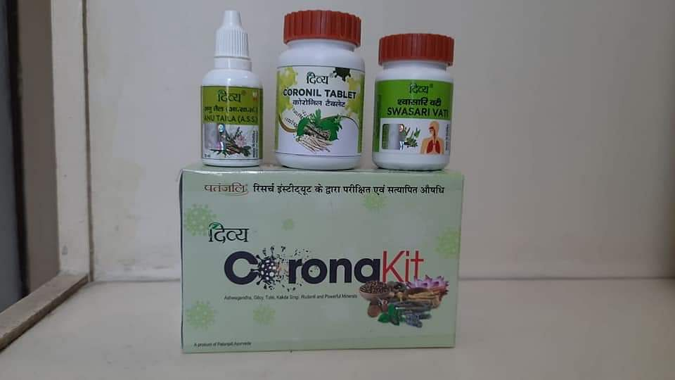 Maharashtra government bans sale of 'Coronil'
