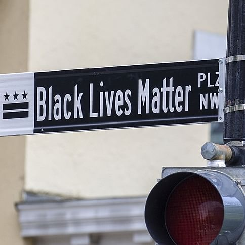 George Floyd Protests: Washington DC officially renames stretch from 16th Street to St John's Episcopal Church as 'Black Lives Matter' street