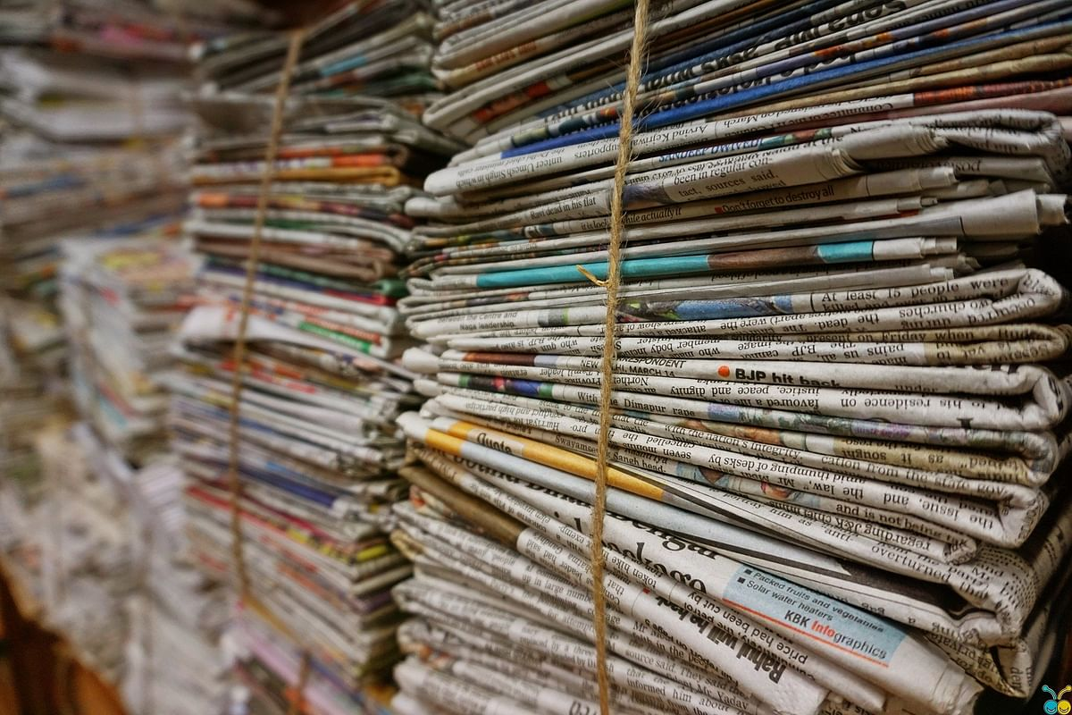 Pandemic? Newspapers have endured much worse