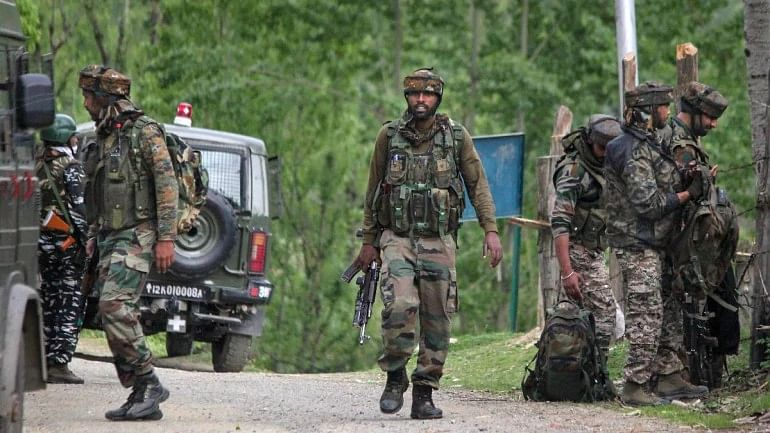 Three terrorists killed in Army encounter on Monday in J&K's Rajouri
