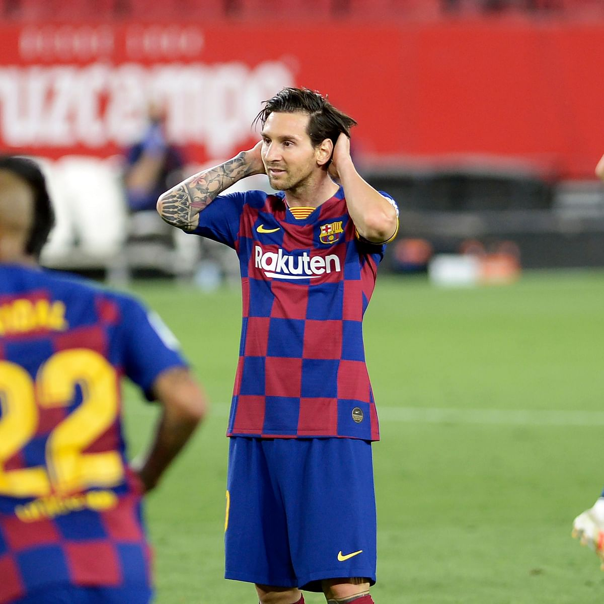 Lionel Messi becomes first La Liga player to get 20 goals and 20 assists in single season
