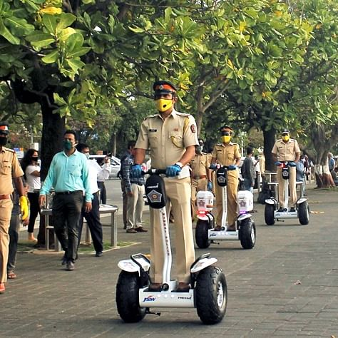But what was the objective?: Twitter after Mumbai police get Segway electric scooters to patrol Marine Drive promenade