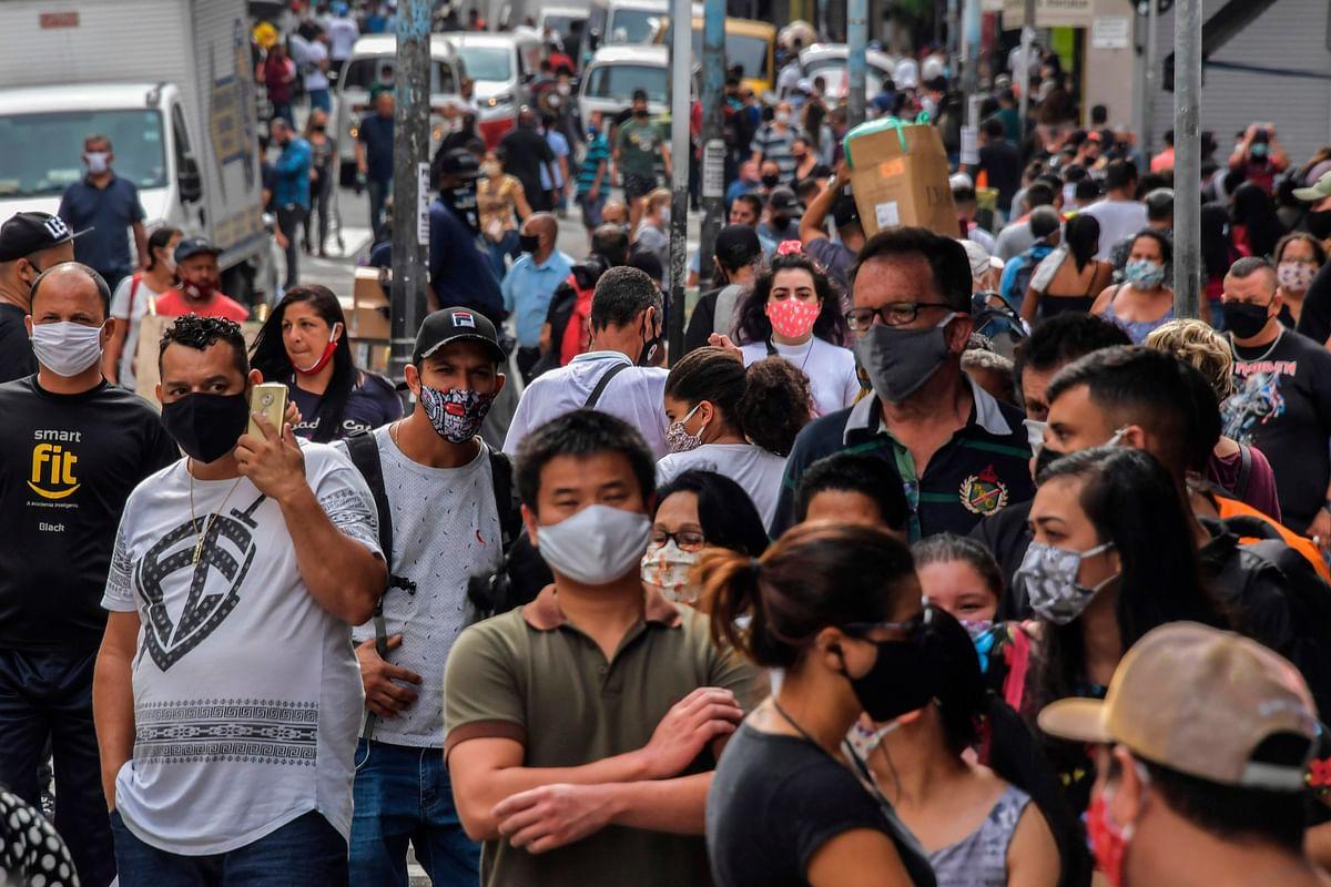 Brazil's coronavirus data is back on website