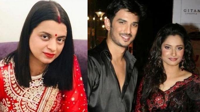 Kangana Ranaut's sister Rangoli Chandel claims Sushant Singh Rajput's PR made him leave Ankita Lokhande