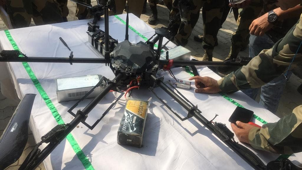 Jammu and Kashmir: BSF shoots down drone that entered Kathua district from Pakistan